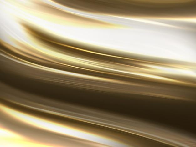 Heldere abstracte gouden gestreepte achtergrond