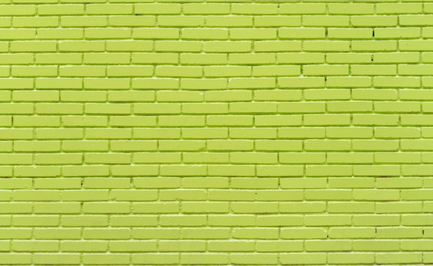 Heldere bakstenen muur