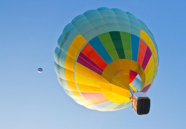 Heldere ballon kleur kleurrijk hitte