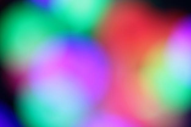 Heldere blured achtergrond voor kerstkaart kleurrijke foto