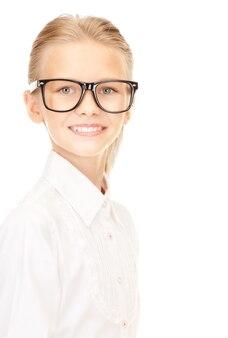 Heldere foto van een basisschoolleerling