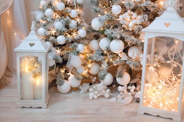Heldere kerstdecoratie