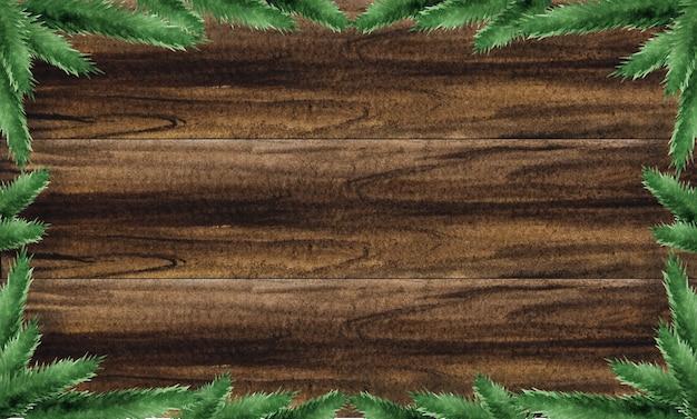 Heldere kerstversiering op een gestructureerd houten oppervlak