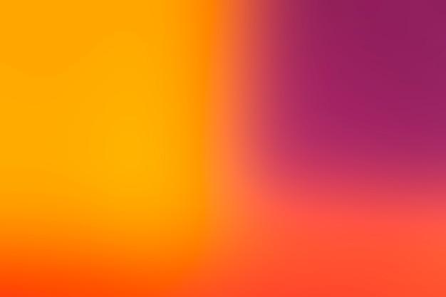 Heldere kleuren mengen zachtjes