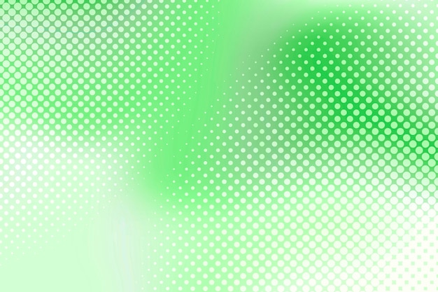 Heldergroene halftoonachtergrond