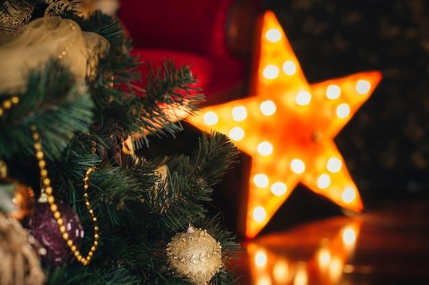 Hele mooie kerstdecoratie in huis