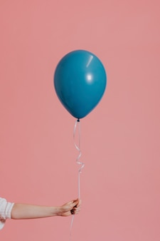 Heliumballon aan een touwtje