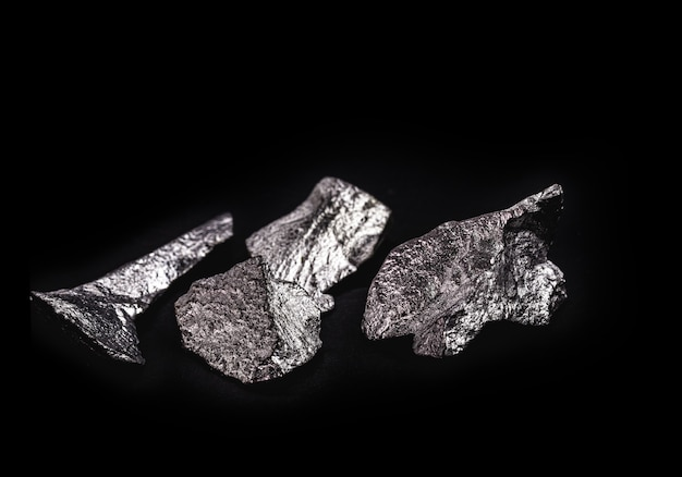 Hematiet is een ijzeroxide-erts met magnetische eigenschappen