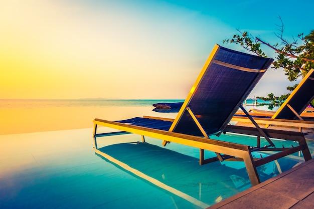 Hemel tropische natuur zomer resort