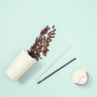 Herbruikbaar plasticvrij en milieuvriendelijk keukengerei.