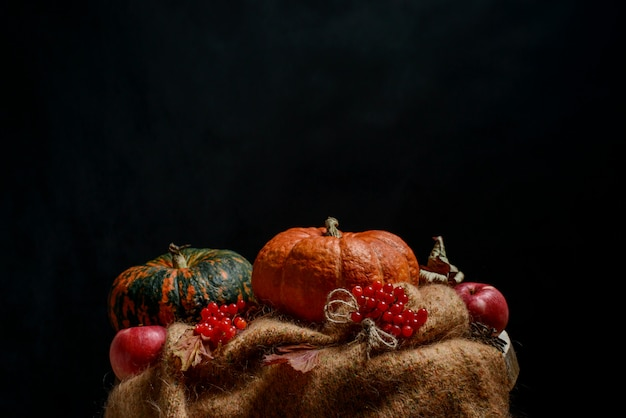 Herfst aard concept, thanksgiving-diner