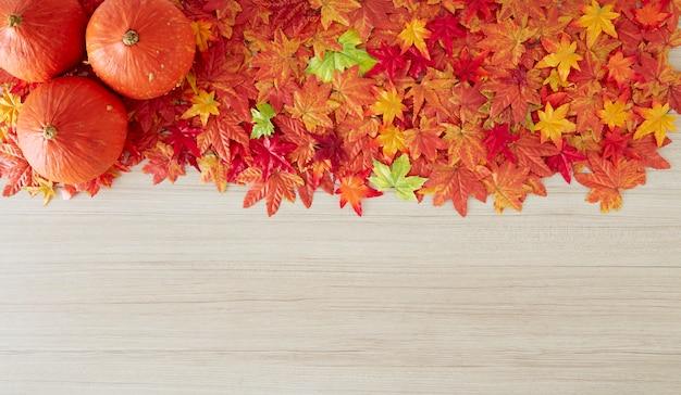 Herfst achtergrond van vrije ruimte en herfst tijd