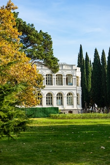 Herfst in chateau mukhrani