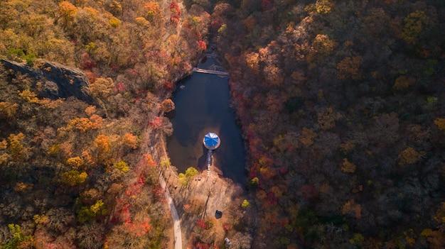 Herfst in zuid-korea