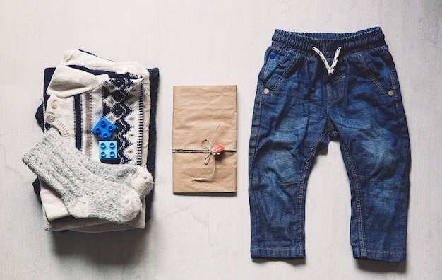 Herfst of winter kinder outfit kleding