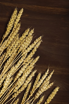 Herfst oogst van graangewassen