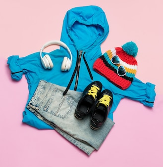 Herfst winter mode tieners outfit