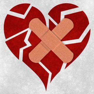 Herstellen van een gebroken hart
