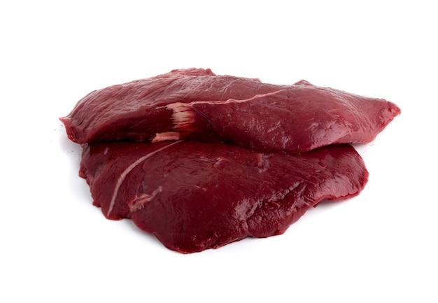 Hertenvlees of hertenvlees geïsoleerd