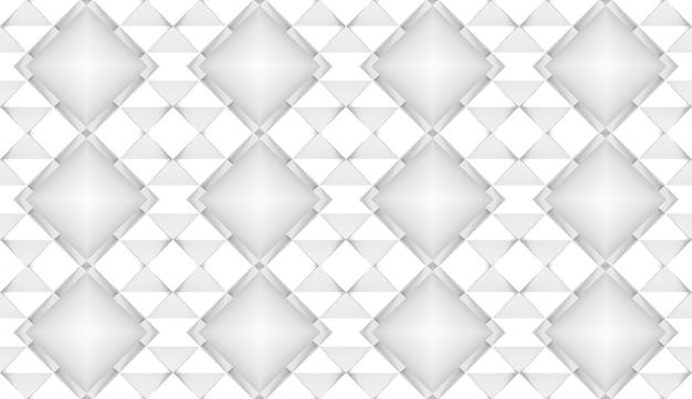 Het 3d teruggeven van witte de textuurachtergrond van de net vierkante document kunst
