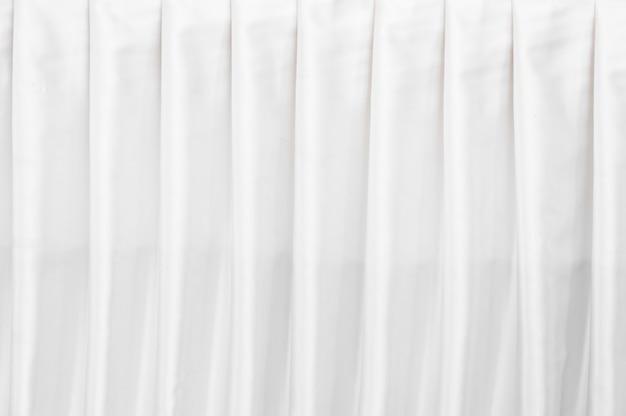Het abstracte witte behang van de gordijntextuur voor achtergrond