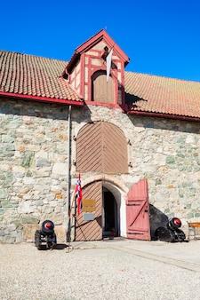 Het arsenaal in het aartsbisschop palace museum in trondheim, noorwegen