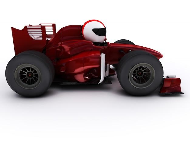 Het besturen van een formule een auto