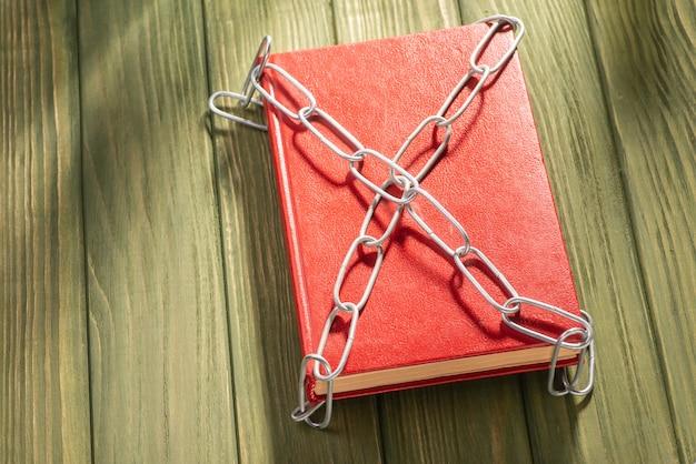 Het boek en de ketting.