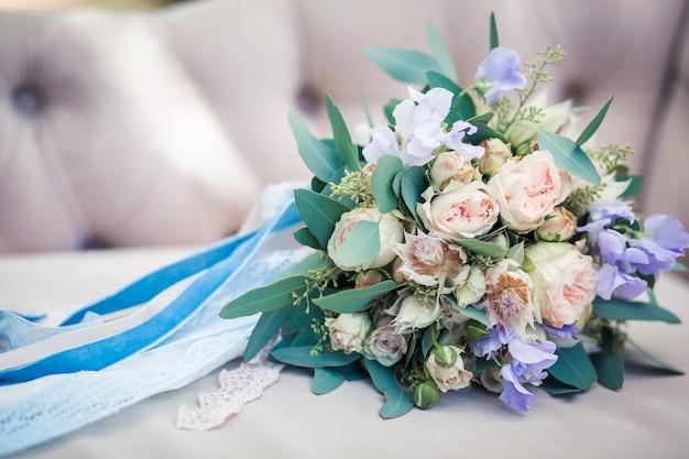 Het boeket van de bruid