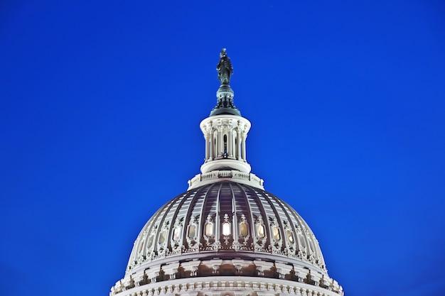 Het capitool in washington, verenigde staten