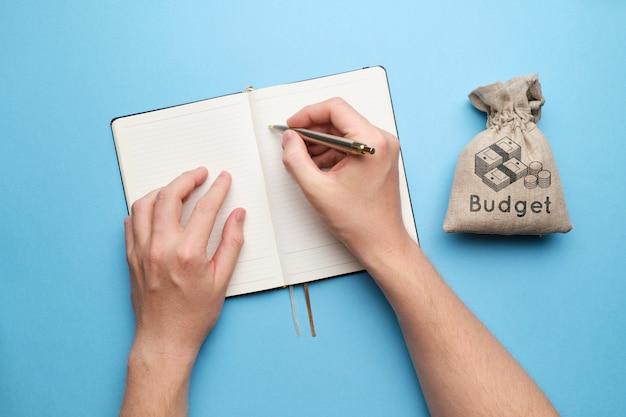 Het concept van budgettering en verantwoording van inkomsten en uitgaven.