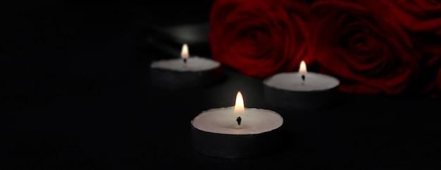 Het concept van rouw, rouw, dood door ziekte, begrafenis