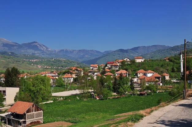 Het dorp in bosnië en herzegovina