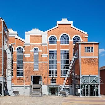 Het elektriciteitsmuseum is een centrum dat de evolutie van energie presenteert met een museum voor wetenschap en industriële archeologie, lissabon