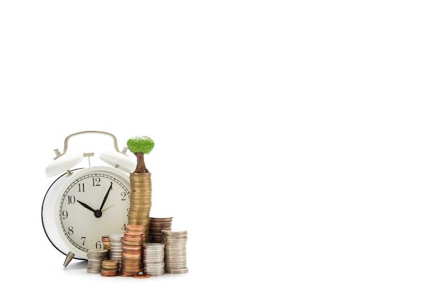Het financiële geld van bedrijfsconceptenbesparingen