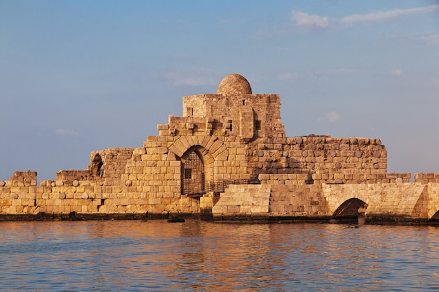 Het fort in sidon (sayda), libanon
