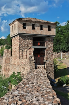 Het fort in veliko tarnovo in bulgarije