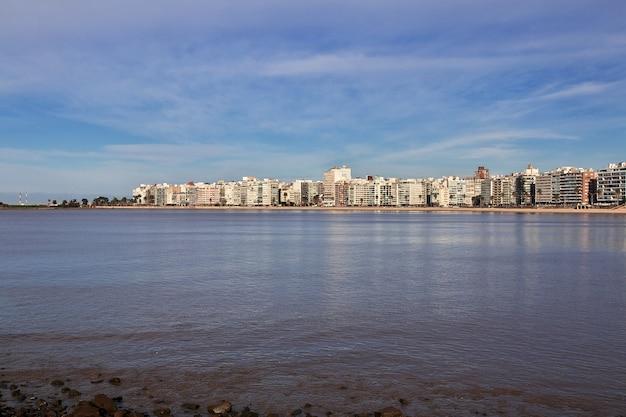 Het gebouw in montevideo, uruguay