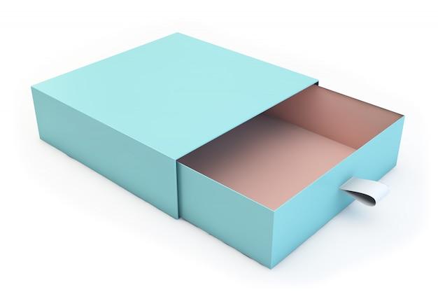 Het geïsoleerde doosmodel 3d teruggeven
