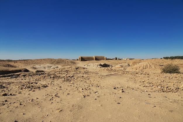 Het graf van de oude farao in el kurru, soedan