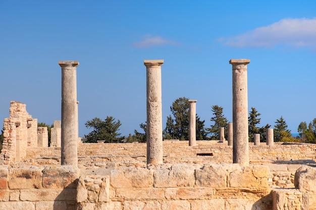 Het heiligdom van apollo hyllates in cyprus, griekenland