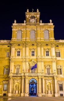 Het hertogelijk paleis van modena - italië