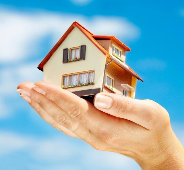 Het huis in menselijke handen