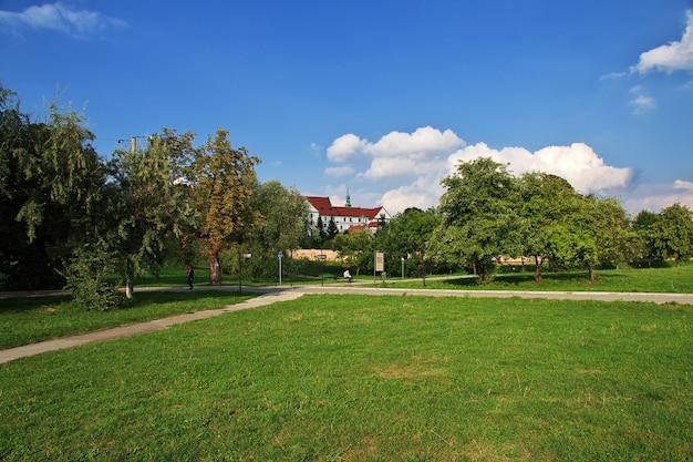 Het huis in wieliczka-stad in polen