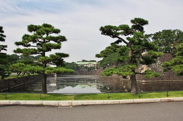 Het imperator-paleis, tokyo, japan