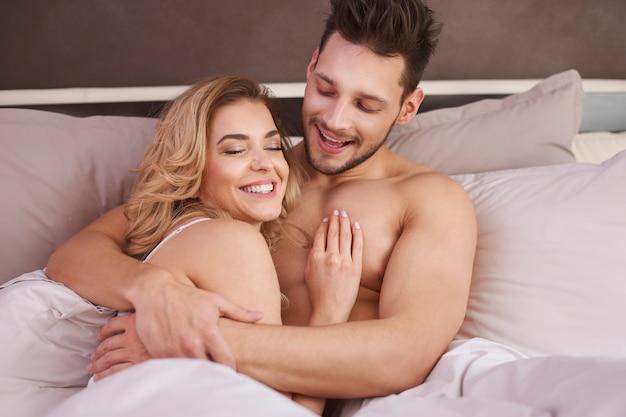 Het is groot geluk om een perfecte persoon naast je te hebben