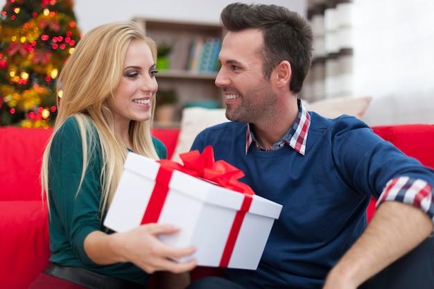 Het is mijn cadeau voor jou met kerstmis