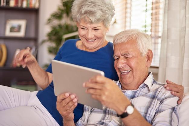 Het is zo grappig om digitale technologie te gebruiken