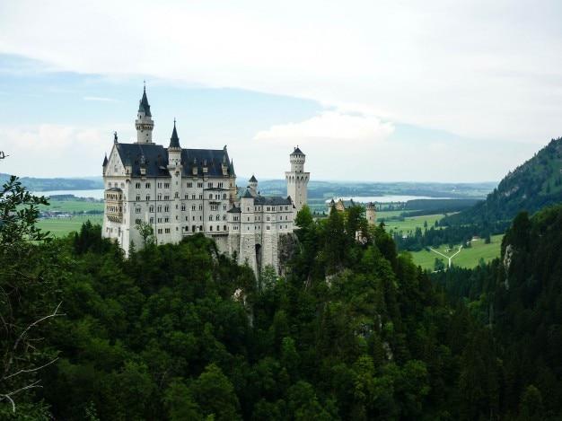 Het kasteel boven de bomen