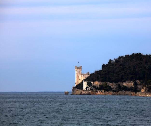 Het kasteel van miramare, triëst